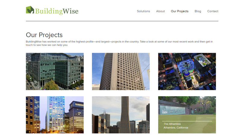 BuildingWise Project Page