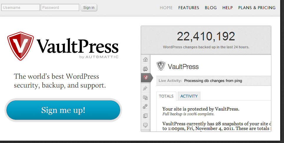 February 2012 Meetup Slides: Backing Up Your WordPress Site