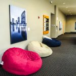 Bean bags in 3rd Floor hall