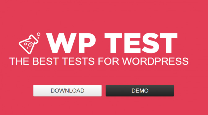 Demo content for WordPress sites from wptest.io