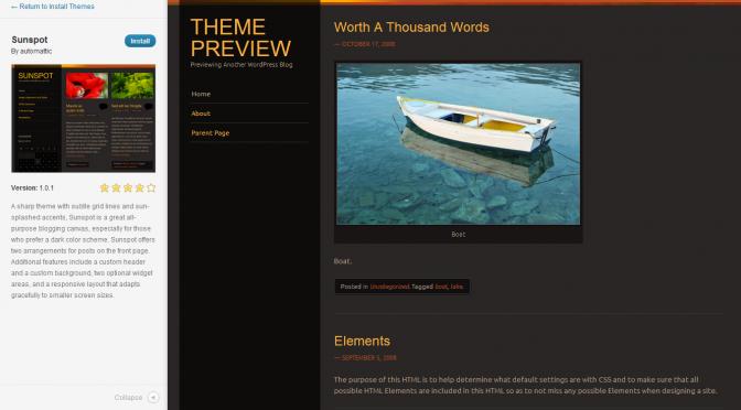 May 2012 Meetup Slides: WordPress 3.4 Feature Tour