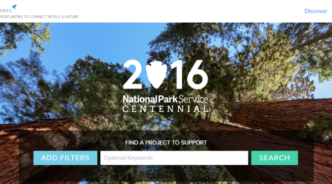 National Park Service website by Adam LaBarge