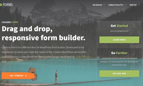 Caldera Forms home page