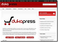 DukaPress screenshot