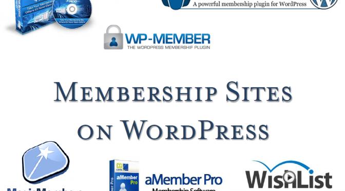 September 2012 Slides: Membership Sites on WordPress