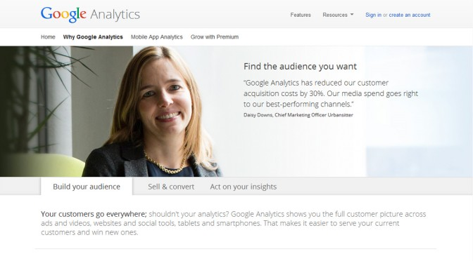 April 2014 Slides: Google Analytics