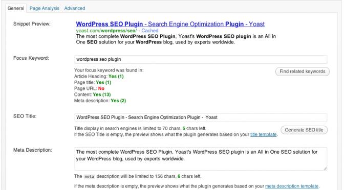 May 2014 Slides: WordPress SEO with Yoast